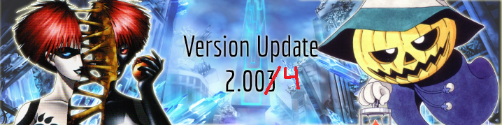 Version Update 2.003/4/5
